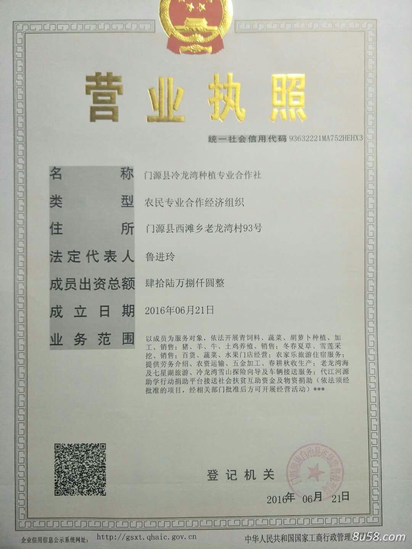 门源县冷龙湾种植专业合作社