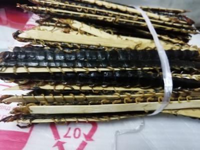 湖北随州产大量蜈蚣12公分